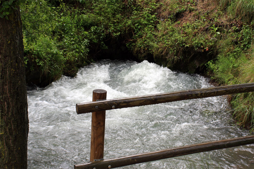 Nacedero Río Queiles en Vozmediano